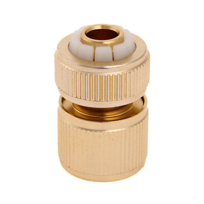 "Brass Water Garden Hose Quick Release Coupling Female Connector 1/2"" Compression"