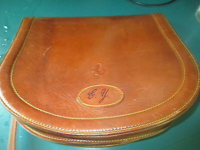 Ferrari Store Schedoni Leather Pocketbook Embossed with the Prancing Horse