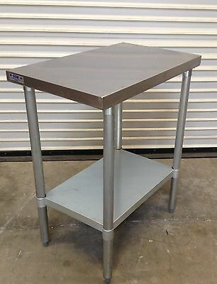 NEW 30 x 18 Stainless Steel Work Table NSF #2079 Food Prep Commercial Restaurant