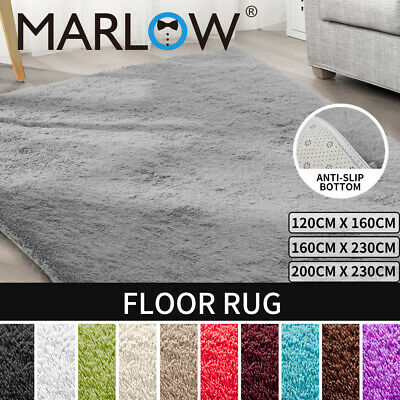 New Designer Shag Shaggy Floor Confetti Rug Carpet Free Delivery