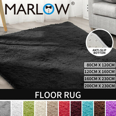 New Designer Shag Shaggy Floor Confetti Rug Carpet ALL SIZE Fast Delivery