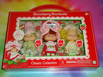 STRAWBERRY Shortcake LIME Chiffon LEMON Meringue 1980's Classic Collection 2016