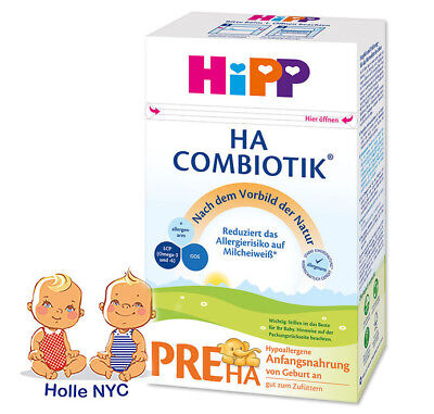 HiPP Combiotic PRE HA First Infant Milk HYPOALLERGENIC FREE EXPEDITED SHIPPING