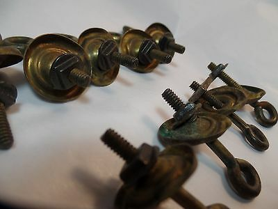 12 Piece Lot of Vintage Salvage Drawer Pull Hardware- Rare Find