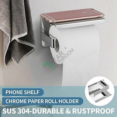 Bathroom Accessories Toilet Brush Holder Skidproof Glass 304 Stainless Steel