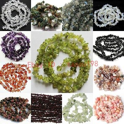 "4-9mm Freeform loose beads strand gemstones jewelry 16"" DIY making"
