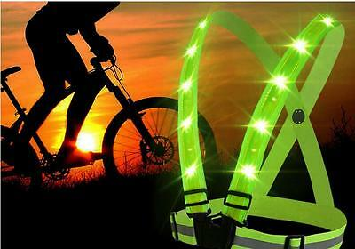 High Visibility Adjustable Safety New Gear Reflective Stripes Security Vest