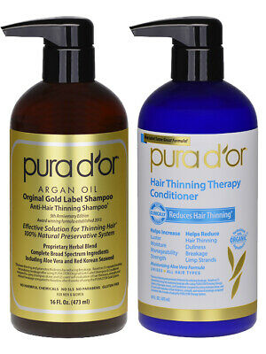Pura D'or / Dor Anti Hair Loss Shampoo & Conditioner - Australian Distributor