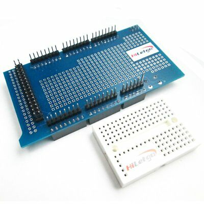 Mega 2560 R3 Prototype Shield ProtoShield V3 + Mini Breadboard For Arduino MEGA