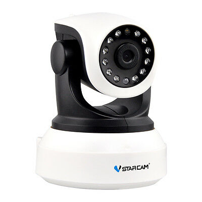 Wireless H.264 HD 720P IP Camera P2P Network Infrared Dual IR-CUT Android iOS