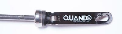 QUANDO Bike Bicycle REAR WHEEL QUICK RELEASE SKEWER in BLACK (Any Rear OLN)