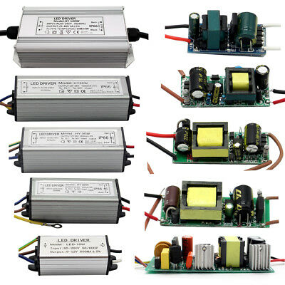 Waterprrof 10W 20W 30W 50W 100W Led Constant Current Led Power Supply Driver