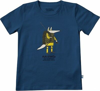 Fjällräven Trekking Fox Kinder-Outdoor-T-Shirt (lake-blue)