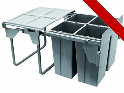 Fabulous Kitchen Waste Bin Recycle Pull Out Mm Ltrjcm Soft With Bins