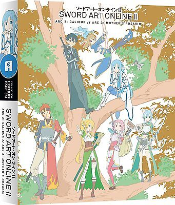SWORD ART ONLINE II; PART 3 (LIMITED EDITION] - New Blu-Ray