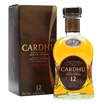 Cardhu 12 Year Old Single Malt Scotch Whisky 700mL