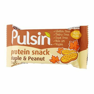 Pulsin Maple & Peanut Protein - 50g (Pack of 6)