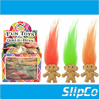 Trolls Bring Back Memories With 3 Lucky Troll Dolls Pencil Topper Loot Bag Toy