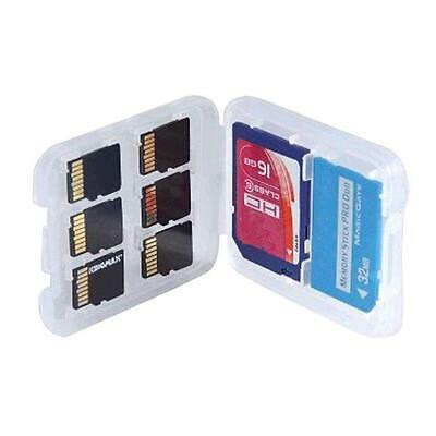 1pc 8 Slots Micro SD TF SDHC MSPD Memory Card Protecter Box Storage Case Holder#