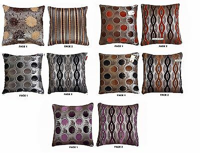 Large Jacquard Cushion Cover 2 Face High Quality Jacquard Cushion Cover 55x55cm