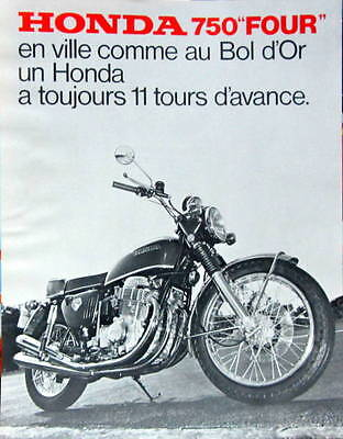 Moto Honda  750 Four   Catalogue
