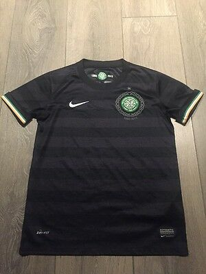 Celtic Away Shirt 2012/13 125 Year Anniversary Youths 10/12 Years Rare