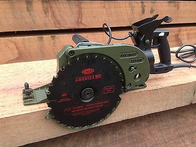"!!SALE!! Cuz-D Straight Flush Saw, 8-1/2"", Zero Clearance Worm-drive Saw w/Blade"