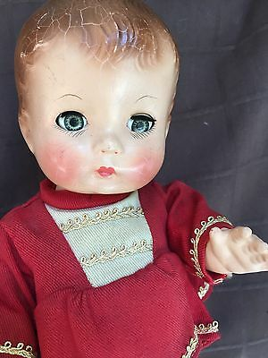 "12"" original vintage composition Effanbee CANDY KID MAJORETTE toddler baby doll"