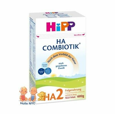 HiPP Combiotic HA 2 Infant Milk Formula HYPOALLERGENIC FREE SHIPPING 3 BOXES