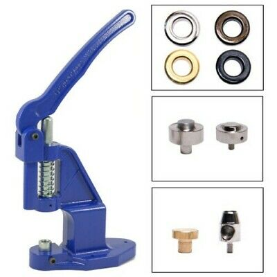 Eyelet press + Tools + 12mm RUST-FREE, for Clothing, Leather, Textile, Plans