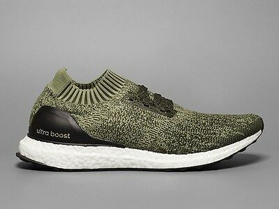 387cde2d2 Adidas Ultra Boost Uncaged Olive Tech Earth Green Mens Shoes BB3901 Size  8-13