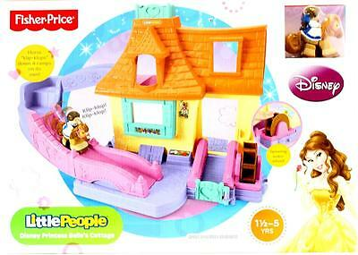 Fisher Price Little People Disney Belle's Cottage Beauy & The Beast Playset