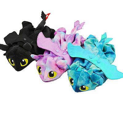 Pet Cat Dog Costumes Fly Dragon Halloween Pet Costume Warm 3 Color 5 Sizes
