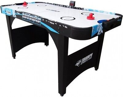 "Air Hockey with ES 60"" Arcade Hockey Table Tennis Top Classic Game"