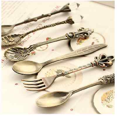 Vintage Spoons High Tea forks Coffee Tea Spoon stylish spoon each designs