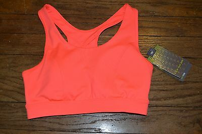 6be3d9d24d539 Tek Gear Low Impact Sports Bra Size XS Coral MSRP  30.00 New with Tags