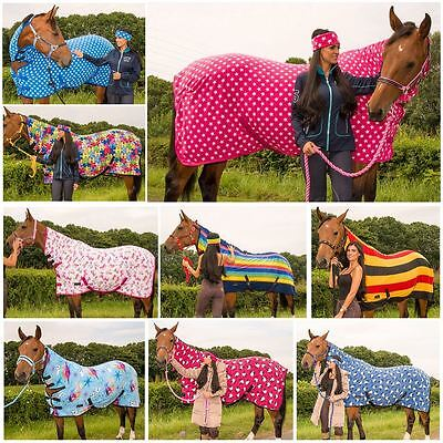 BOH Print Fleece Breathable Cooler Moisture Wicking Anti-Sweat Travel Show Rug