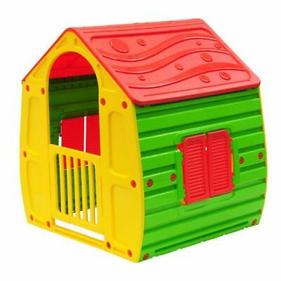 New Cubby Playhouse Interactive Play Ground House Indoor Outdoor Durable Plastic