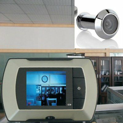 2.4 Inch LCD Visual Monitor Door Peephole Peep Hole Wireless Viewer Camera JS~