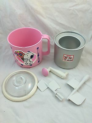Vintage PINK Snoopy Ice Cream Maker DONVIER LAND