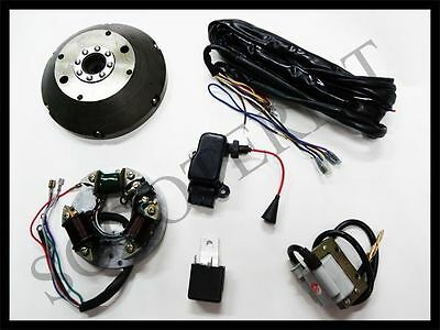 Vespa 12V Electronic Kit 6V Conversion Kit Vba Vbb Vbc Vlb Vna Super Sprint 125