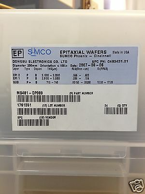Sumco DP089 200mm Silicon Wafer