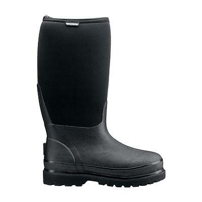 Bogs Rancher Black Men's Boots Insulated Snow Winter Slip-On #69142