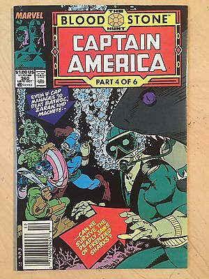 Captain America #360 (Oct 1989, Marvel)! First Appearance of Crossbones! VF cond