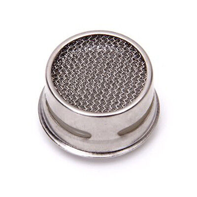 Kitchen/Bathroom Faucet Strainer Tap Filter---White and Silver L6