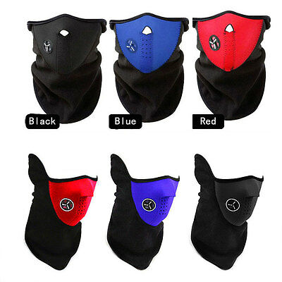 Winter Cyling Bike Bicycle Ski Motocycle Cover Neck Guard Scarf Half Face Mask