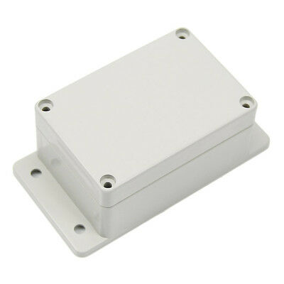 White Waterproof Plastic Electronic Project Box Enclosure Case 100×68×50MM LW
