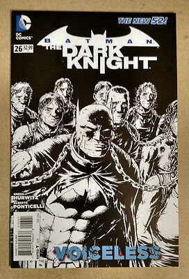Batman Dark Knight #26 Black And White Variant 1St Print Dc Comics (2014) New 52