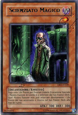 Yu Gi Oh DR1 128 - Scienziato Magico / Magical Scientist - R NMINT ITA