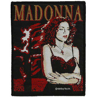Madonna Men's Madonna Woven Patch Black